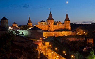 Trip to Lviv, medieval town Kamyanets-Podilskyi, fortresses, castles and one cave